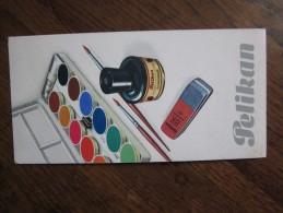LE : PELIKAN , Encre, Gommes , Peintures à L'aquarelle  ( 2 ) - Papel Secante