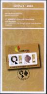 BRAZIL 2016 -  22th Expo LUBRAPEX -  Official Brochure Edict #04 - Brazil