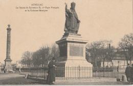 15 - AURILLAC - La Statue De Sylvestre II, Er Pape Français Et La Colonne Montyon - TBE - Aurillac