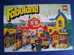 PO5251D# PUZZLE LEGO FABULAND 1980 PROMO - Lego System