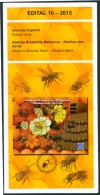 BRAZIL 2015 -  STINGLESS BEES - Official Brochure Edict #10 - Brazil