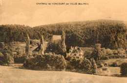 CPA - Environs De VILLE (67) - Aspect Du Château De Honcourt Dans Les Années 30 - Frankreich