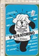 PO5325D# ADESIVO STICKER SPORT - 9^ STRATORINO - MARATONA - Atletica