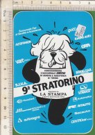 PO5325D# ADESIVO STICKER SPORT - 9^ STRATORINO - MARATONA - Athlétisme