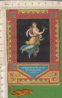 PO5351D# CALENDARIETTO PROFUMERIA RANCE' & C.ie - MERAVIGLIE DI POMPEI 1922 - Calendari