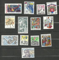 Slovaquie N°240 à 242, 245, 246, 253, 255 à 257, 274, 281, 284, 289 Cote 3.60 Euros - Oblitérés