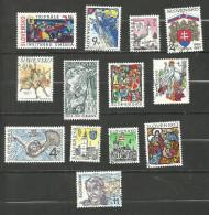 Slovaquie N°240 à 242, 245, 246, 253, 255 à 257, 274, 281, 284, 289 Cote 3.60 Euros - Slovakia