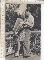 PO5525D# COPPIE - INNAMORATI CON FISARMONICA  VG 1946 - Coppie