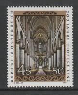 TIMBRE NEUF D´AUTRICHE - CHOEUR DE LA CATHEDRALE DE LINZ N° Y&T 1631 - Eglises Et Cathédrales