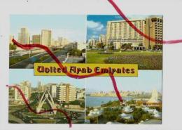 Cpm St001809 émirats Arabes Unis D'abu Dhabi 4 Vues Sur Carte - Emirats Arabes Unis
