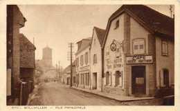 CPA - BOLLWILLER (68) - Aspect Du Café à L'aigle D'Or à L'angle De La Rue Principale Dans Les Années 30 - Autres Communes