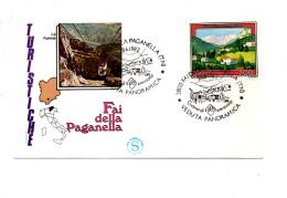 Fh38 - REPUBBLICA 1982 , FILAGRANO SENZA  Timbro D'arrivo A.f. FAI DELLA PAGANELLA - 6. 1946-.. Repubblica