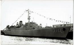 Belgische Zeemacht  Force Navale Belge   A 961  Zinnia - Guerra