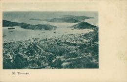 US SAINT THOMAS / Vue Panoramique Des Îles / - Etats-Unis