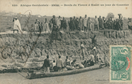 MR KAEDI / Bords Du Fleuve à Kaedi Un Jour De Courrier / - Mauritanie