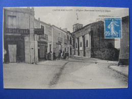 CPA Castelnau Le Lez (34) - L´Eglise - Castelnau Le Lez