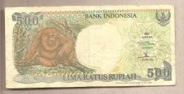 Indonesia - Banconota Circolata Da 500 Rupie P-128d - 1995 - Indonésie