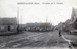 Querzy-sur-Oise. Carrefour Et Le Calvaire. - France