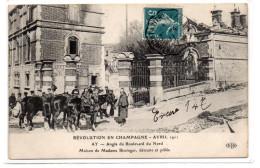 Marne : Ay  En Champagne : Révolution D'Avril 1911 - Ay En Champagne