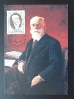 Carte Maximum Card President Paul Eyschen Luxembourg 1990 - Cartes Maximum