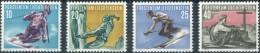 Liechtenstein 1955. Michel #334/37 MNH/Luxe. Sport (II). (Ts22/B-33) - Liechtenstein