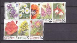 IOM(Fy40) - Mi.Nr. 780-84, 807-09** - Blumen - Isola Di Man