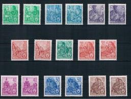 DDR Michel Nr. 577 - 585 A+B Postfrisch - [6] République Démocratique