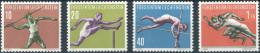 Liechtenstein 1956. Michel #342/45 MNH/Luxe. Sport-(III). (Ts22/B-33) - Liechtenstein