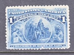 U.S. 230  Fault  **   COLUMBUS - 1893 – Chicago (United States)