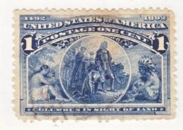 U.S. 230    (o)      COLUMBUS - 1893 – Chicago (Die Vereinigten Staaten)