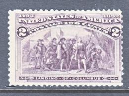 U.S. 231    *      COLUMBUS - 1893 – Chicago (Die Vereinigten Staaten)