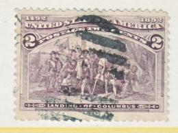 U.S. 231    (o)      COLUMBUS - 1893 – Chicago (United States)
