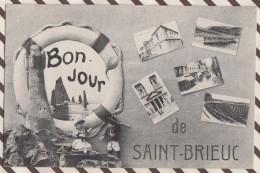 6AI2264 ST SAINT BRIEUC BONJOUR MULTIVUES BOUEE  2 SCANS - Saint-Brieuc