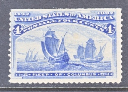 U.S. 233       *      COLUMBUS  SHIP - 1893 – Chicago (United States)