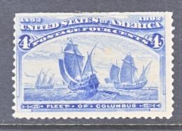 U.S. 233       *      COLUMBUS  SHIP - 1893 – Chicago (Die Vereinigten Staaten)