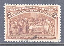 U.S. 234     (o)      COLUMBUS - 1893 – Chicago (United States)