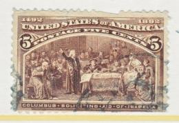 U.S. 234    Fault   (o)      COLUMBUS - 1893 – Chicago (United States)