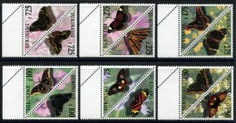 SURINAME 1998 Butterflies MNH - Schmetterlinge