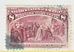 U.S. 236       (o)      COLUMBUS - 1893 – Chicago (Die Vereinigten Staaten)