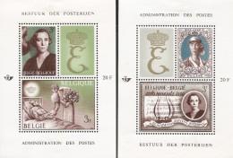 E)1966 BELGIUM, QUEEN ELISABETH, SP360, SOUVENIR SHEET, MNH - Belgium