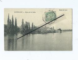 CPA Coupée -   Ecuelles  -   Bords De La Saône - Autres Communes