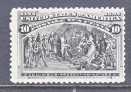 U.S. 237    (o)      COLUMBUS - 1893 – Chicago (Die Vereinigten Staaten)