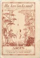 AM.V.16 - 464.  CARTE PARFUMEE UN JARDIN ENCHANTEUR ARYS - Etiquettes