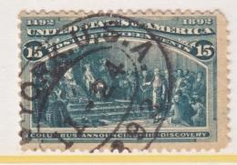 U.S. 238   (o)      COLUMBUS - 1893 – Chicago (United States)