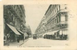 Cpa   -   Toulouse -  La Rue D 'Alsace Lorraine  ,animée                    T130 - Toulouse