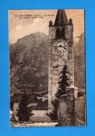 .Aosta - Saint.- Christophe - Chiesa Con Sfondo Monte Pila .    NO   Viaggiata.  Vedi Descrizione - Altre Città