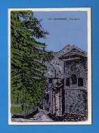 .Aosta - Saint.- Christophe -  Via BRET - Stampata A Mano .    NO   Viaggiata.  Vedi Descrizione - Altre Città