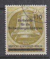 BERLIN 155, Gestempelt, Berlinhilfe Für Hochwassergeschädigte 1956 - Berlin (West)