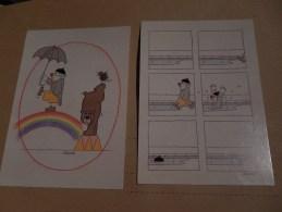 Humour  Lot De 2 Cartes ( Signée Schlote ) - Illustrators & Photographers