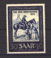 05242 -   Sarre :  Mi  316  ** - 1947-56 Occupation Alliée